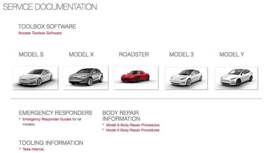 UPDATE: Tesla Quicky Closes Access To Repair Manuals, Service Info, Tools