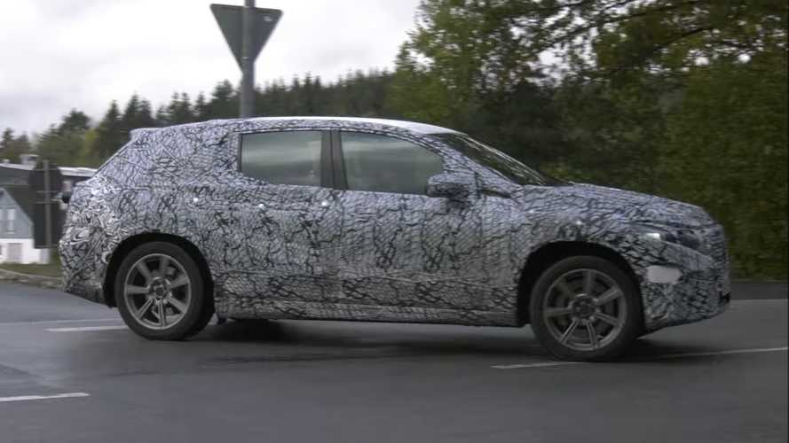 Mercedes EQS SUV Rear-Wheel Steering Spied In Action