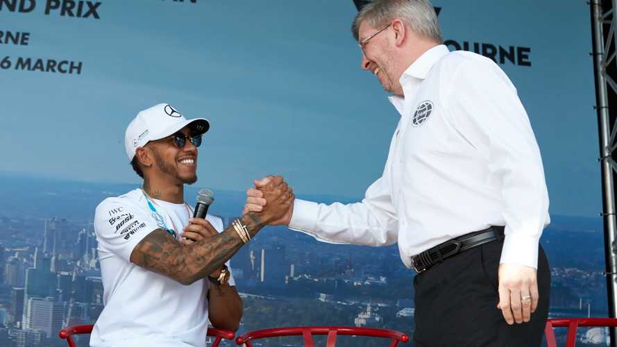 Hamilton explains Brawn role in convincing him to join Mercedes