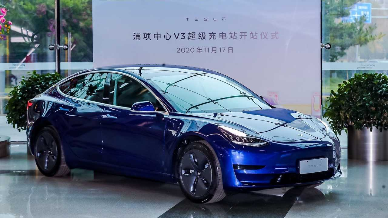 MIC Tesla Model 3 in China