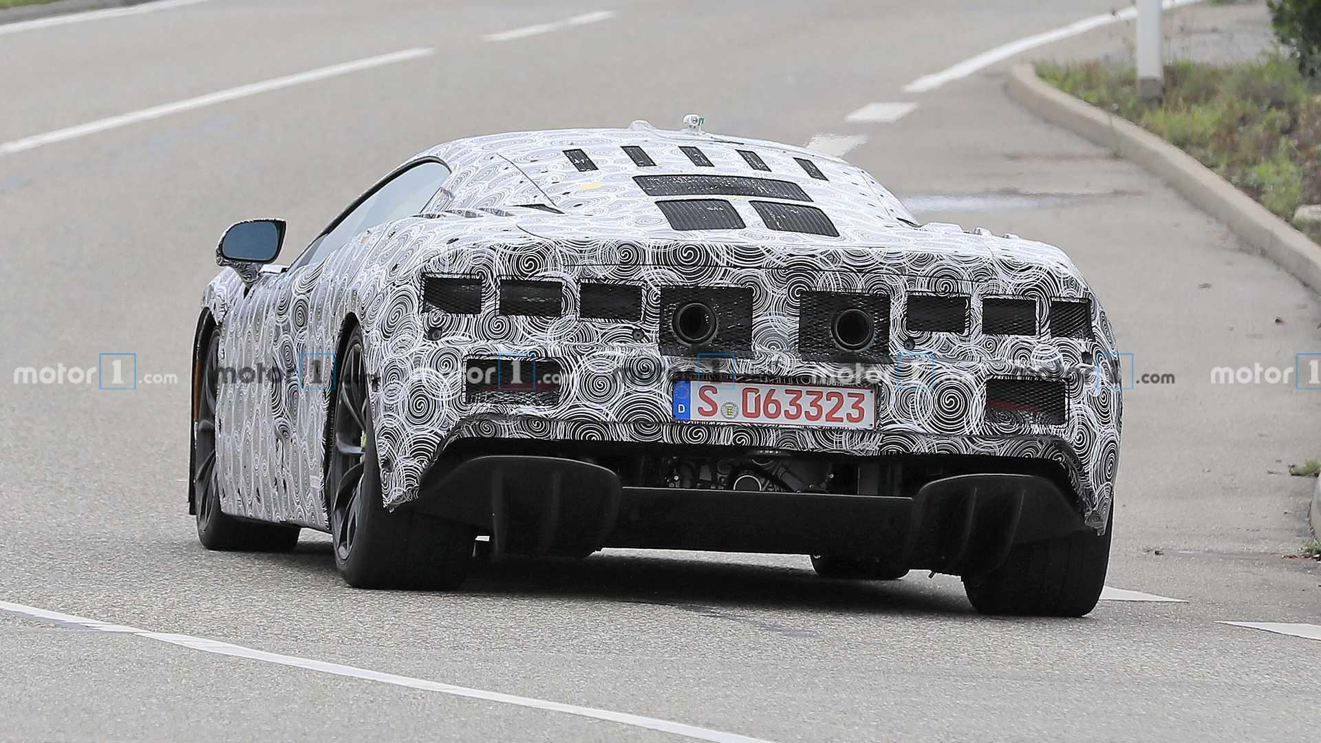McLaren Sports Series Hybrid Rear Spy Photo