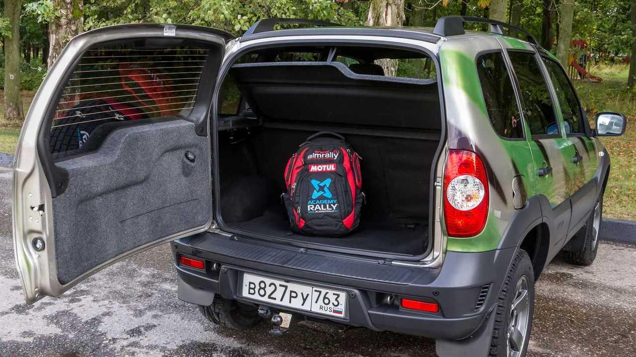 Lada Niva Off-road (2020) – багажник
