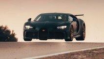 La Bugatti Chiron Pur Sport sur la piste de Nardò