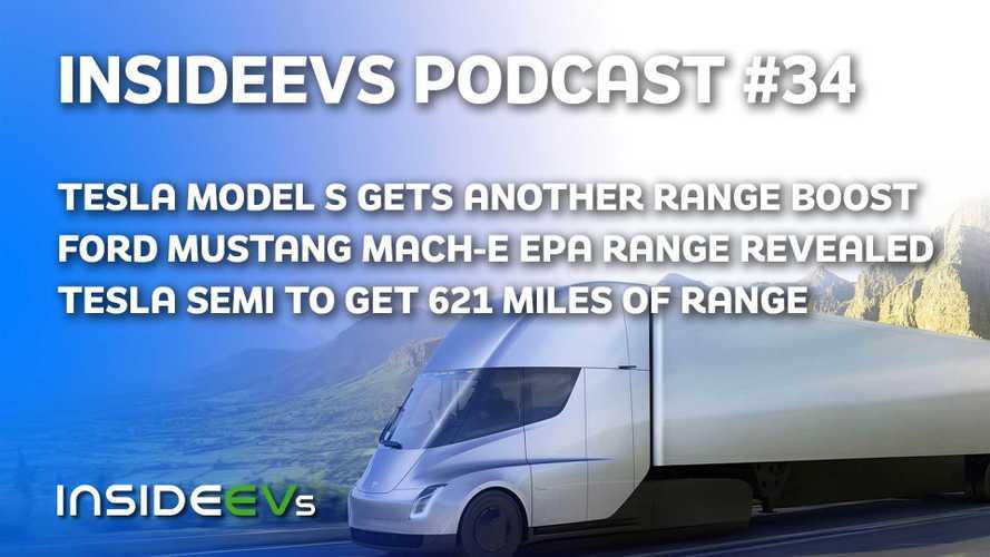 Tesla Model S Range Increases, Ford Mustang Mach-E EPA Range Revealed