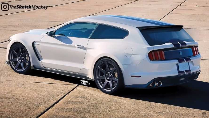 Mustang Shelby GT350 gets shooting brake resurrection in new rendering