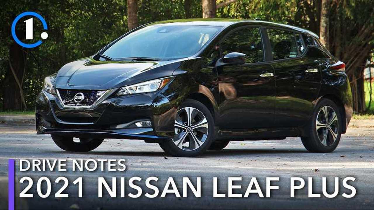 2020 Nissan Leaf Plus Driving Notes