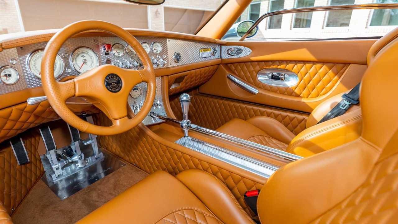 Spyker: «обнаженная» кулиса коробки передач