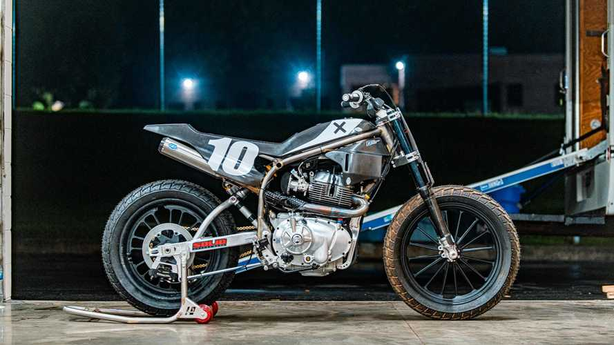 Royal Enfield Twins FT Flat Track Competition Bike Unveiled