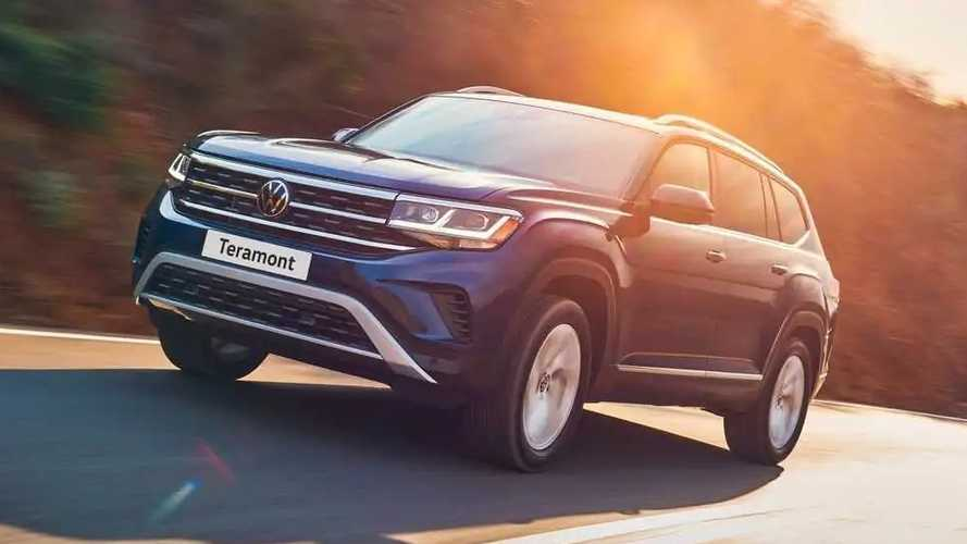 2021 VW Teramont Updated In Russia As Europe's Atlas