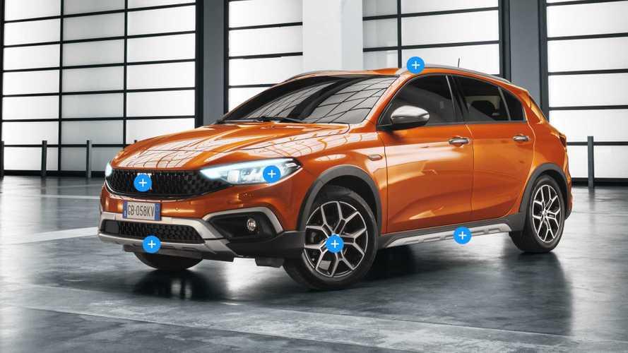 Nuova Fiat Tipo, le novità punto punto del restyling