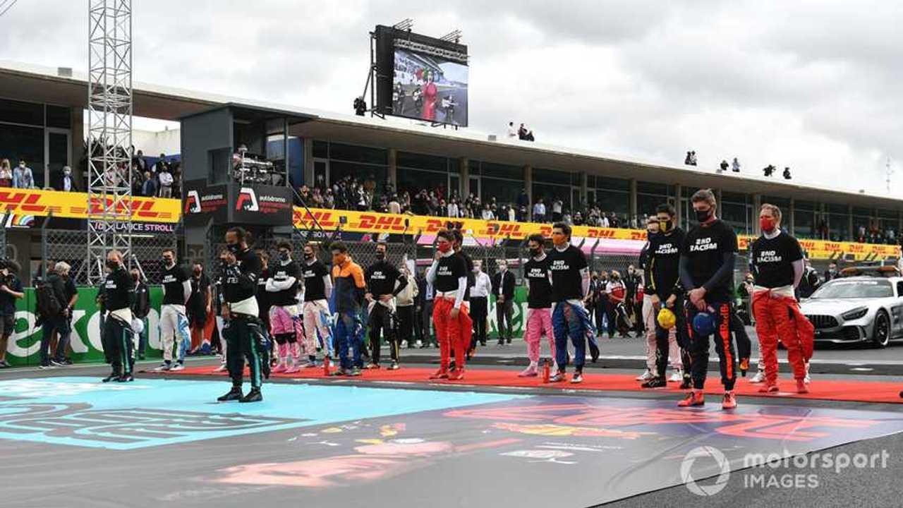 F1 drivers at Portuguese GP 2020