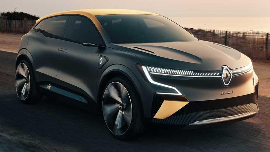 Renault Megane eVision Concept signals future of brand's EVs