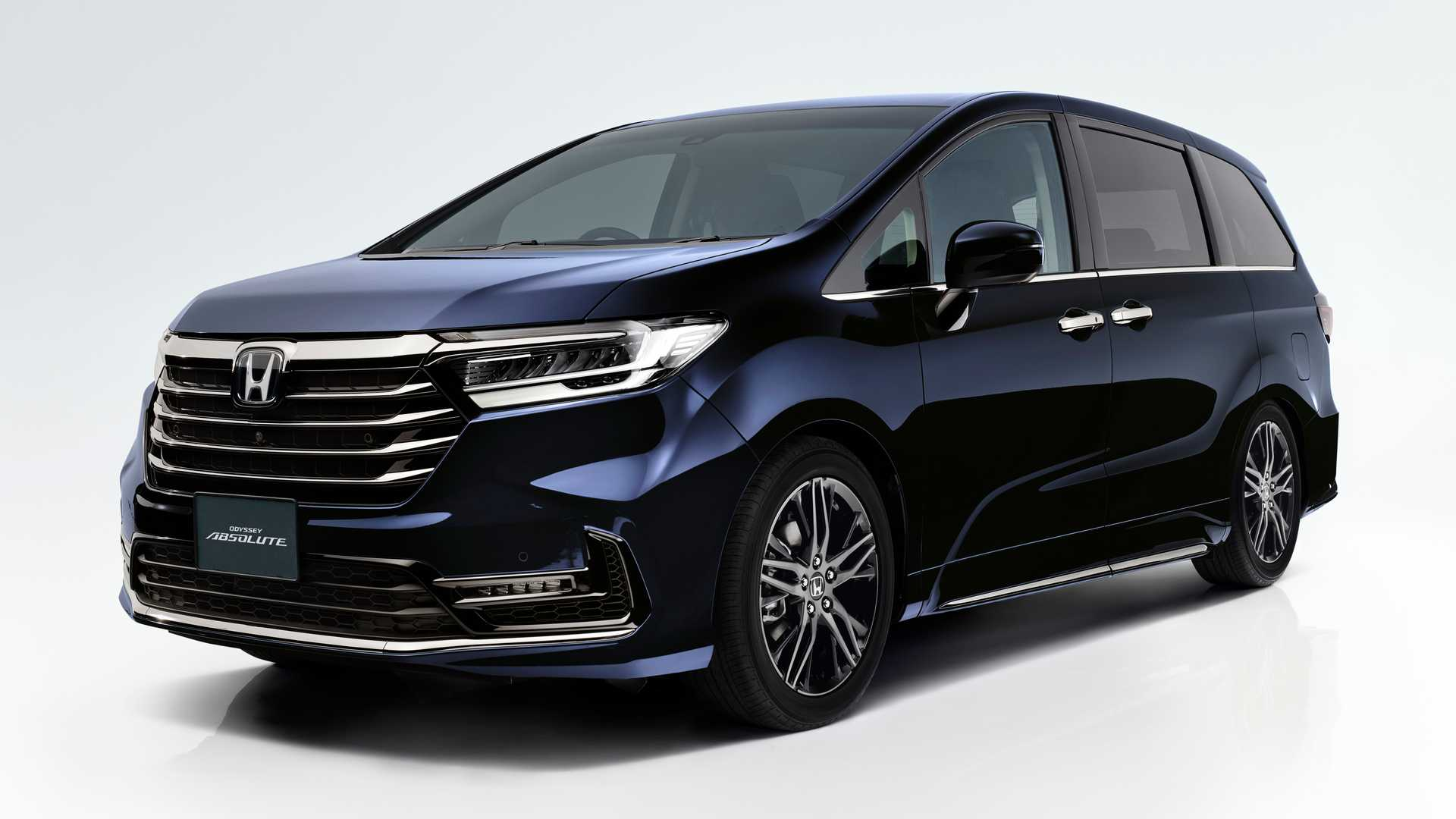 2021 Honda Odyssey Refresh In Japan Has New Face, Gesture ...