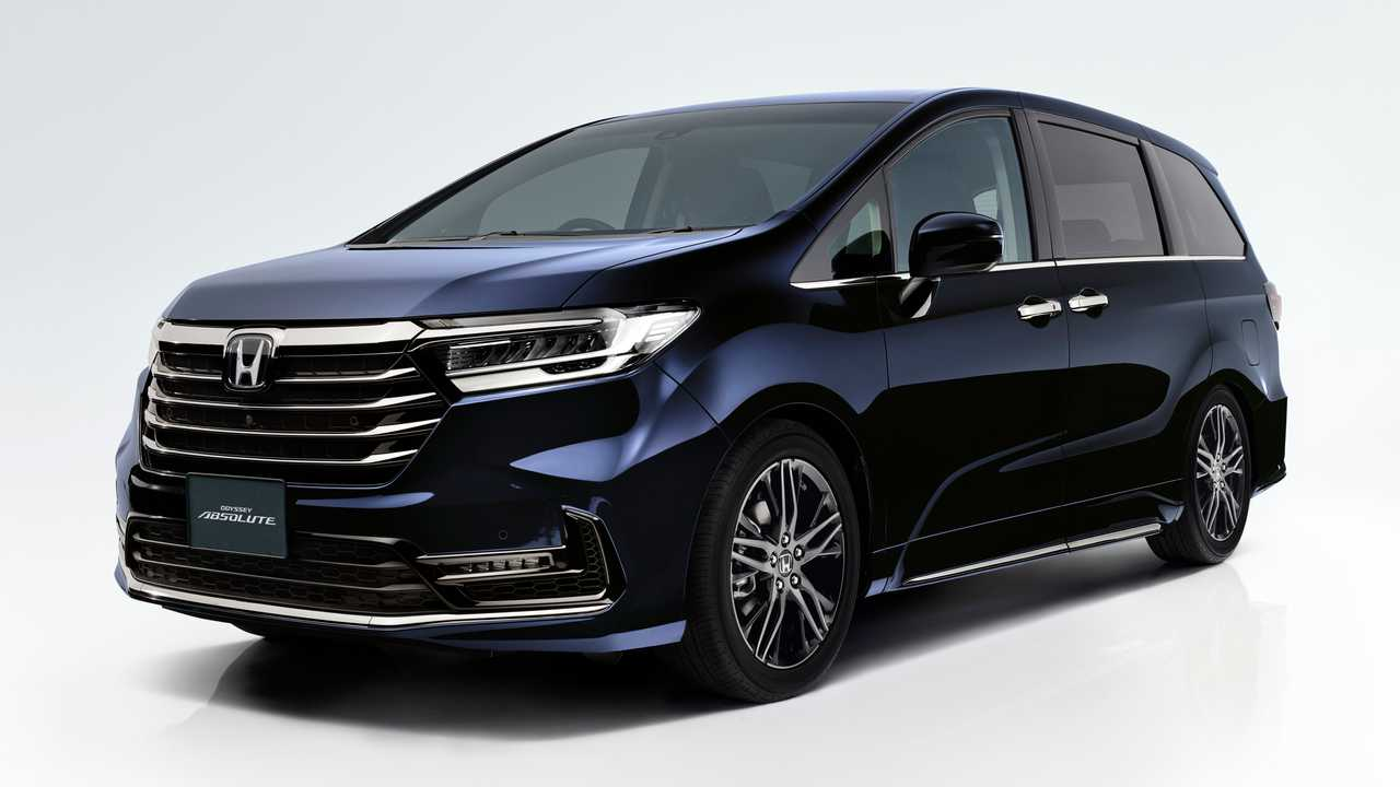 2021 Honda Odyssey Japan Refresh Lead