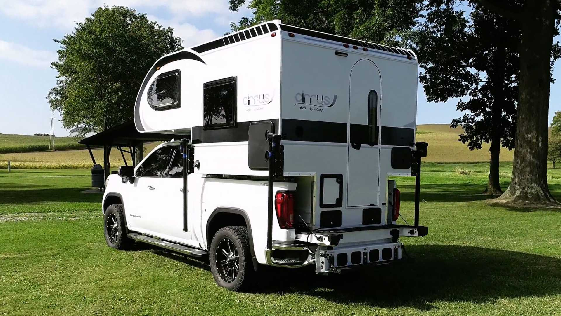 NuCamp Cirrus 620 Truck Camper Revealed For Half-Ton Trucks