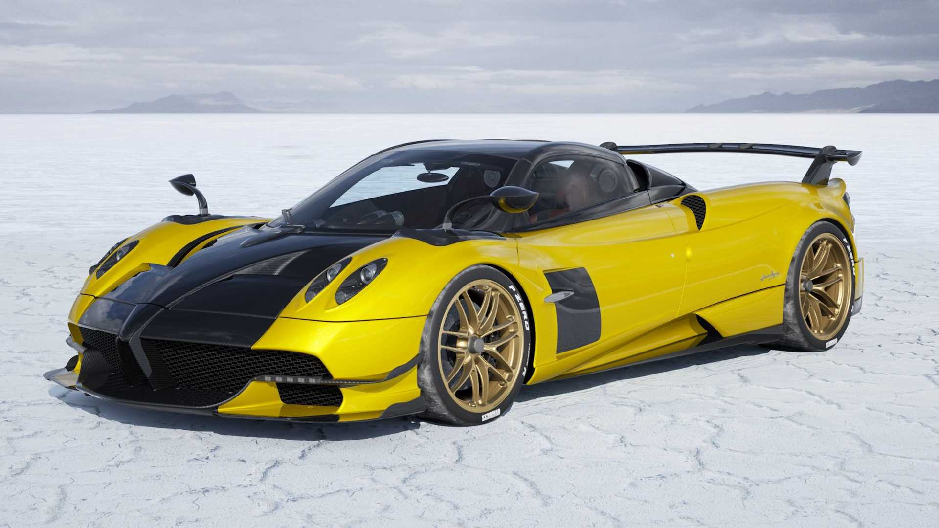 Pagani Huayra BC Roadster Visualizer Creates A Video Of Your Build