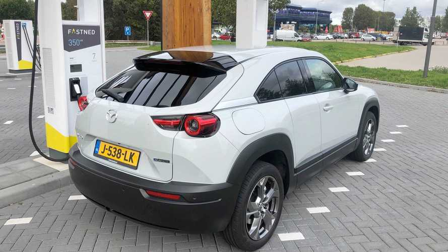 Mazda MX-30 DC Charging Test: Peak Rate Is Not Even 40 kW