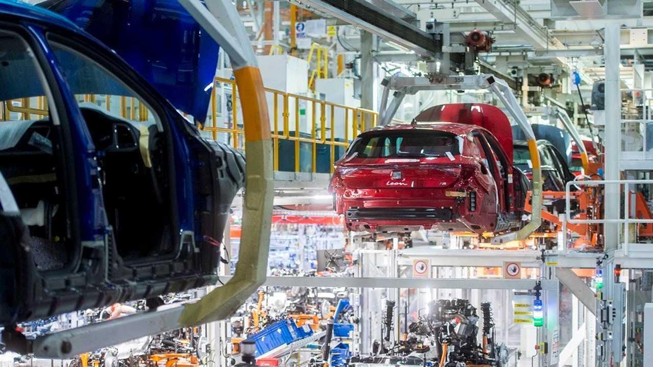 SEAT Leon Martorell üretim bandı