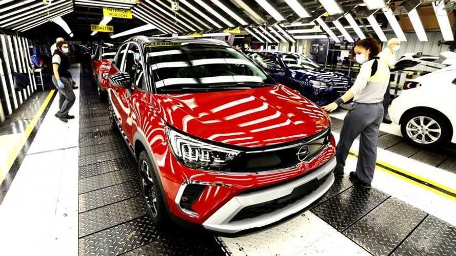 La fabricación del Opel Crossland 2021 ya ha arrancado en Zaragoza