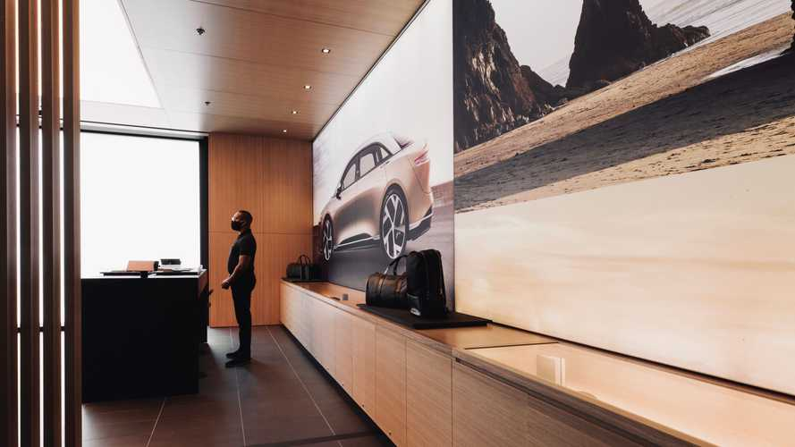 Lucid Motors Beverly Hills Showroom