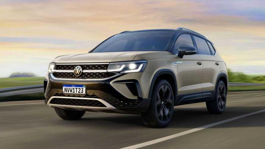 Novo Volkswagen Taos 2022: revelado o rival de Jeep Compass e Toyota Corolla Cross