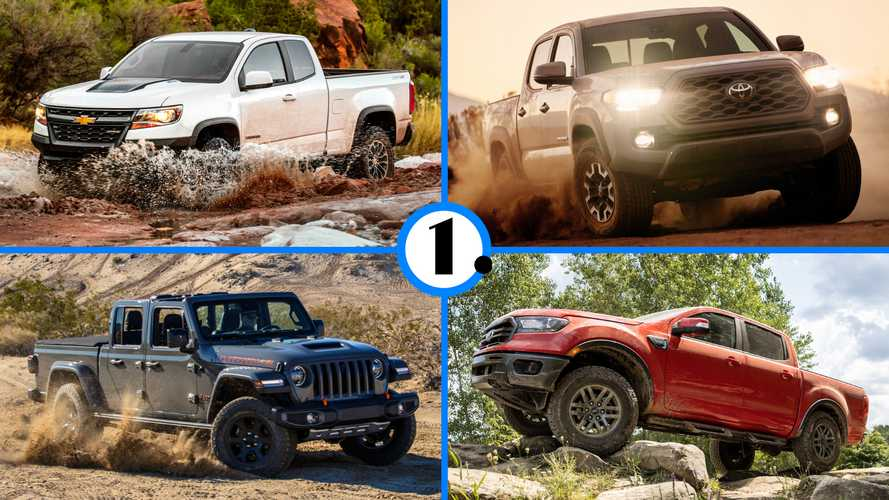 Toyota Tacoma Bests Ranger, Colorado In 2020 Midsize Truck Sales