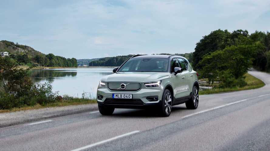 Volvo 2021 yılına hızlı girdi
