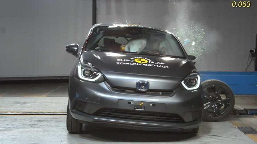 Novo Honda Fit com airbag central ganha nota máxima em teste de colisão
