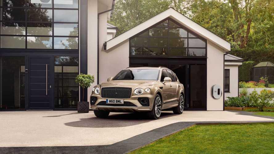 Bentley Bentayga Hybrid de makyajlandı