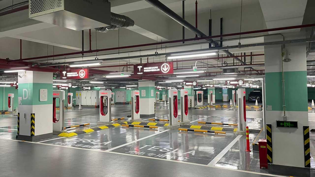 Stazione Shangai Supercharger
