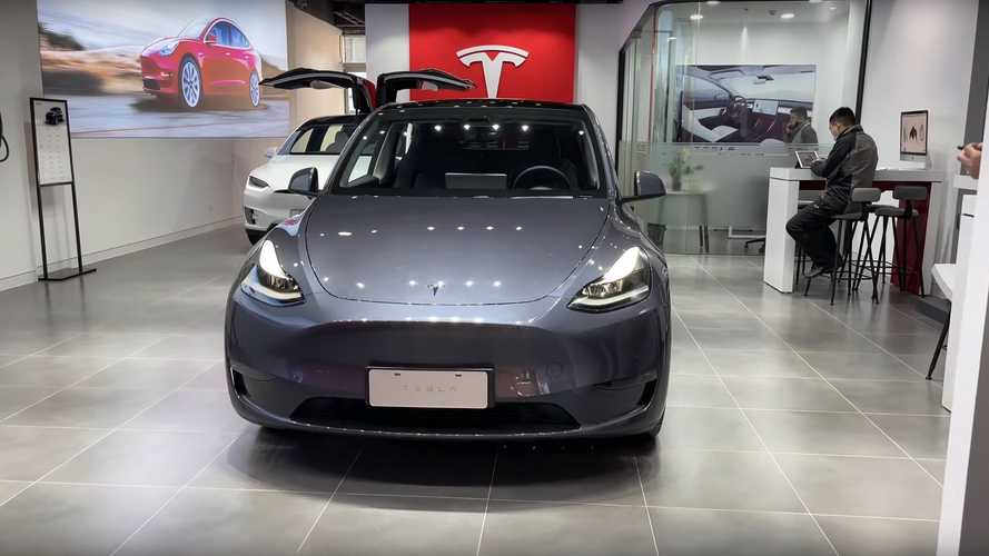 Let's Take A Quick Look At The MIC Tesla Model Y