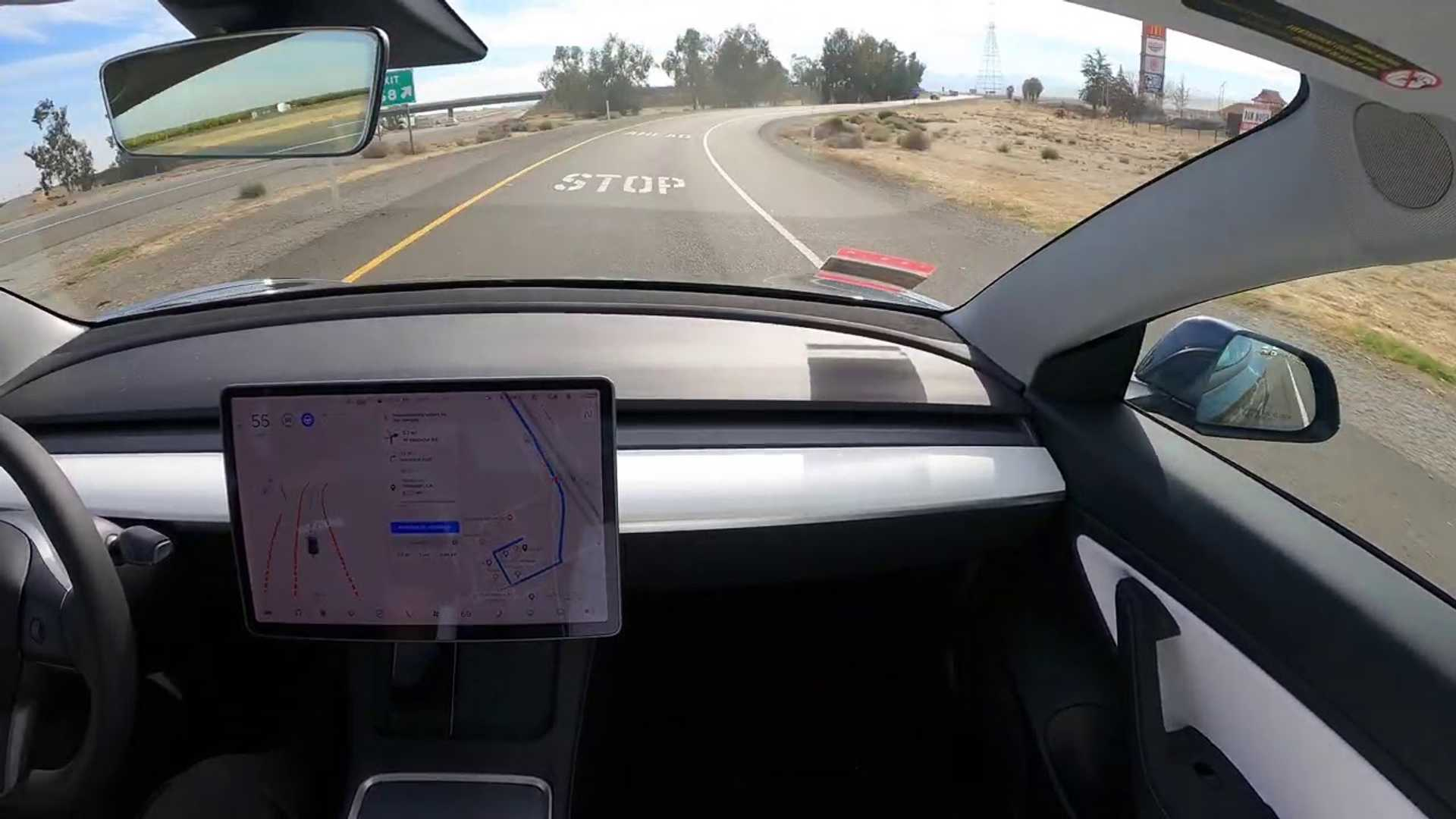 Watch Tesla FSD Time-Lapse As It Drives Itself From SF To ...