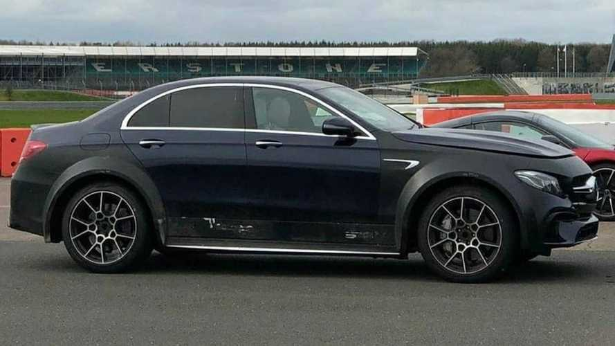 Mercedes-AMG E63 On Stilts Might Be An Aston Martin DBX Mule