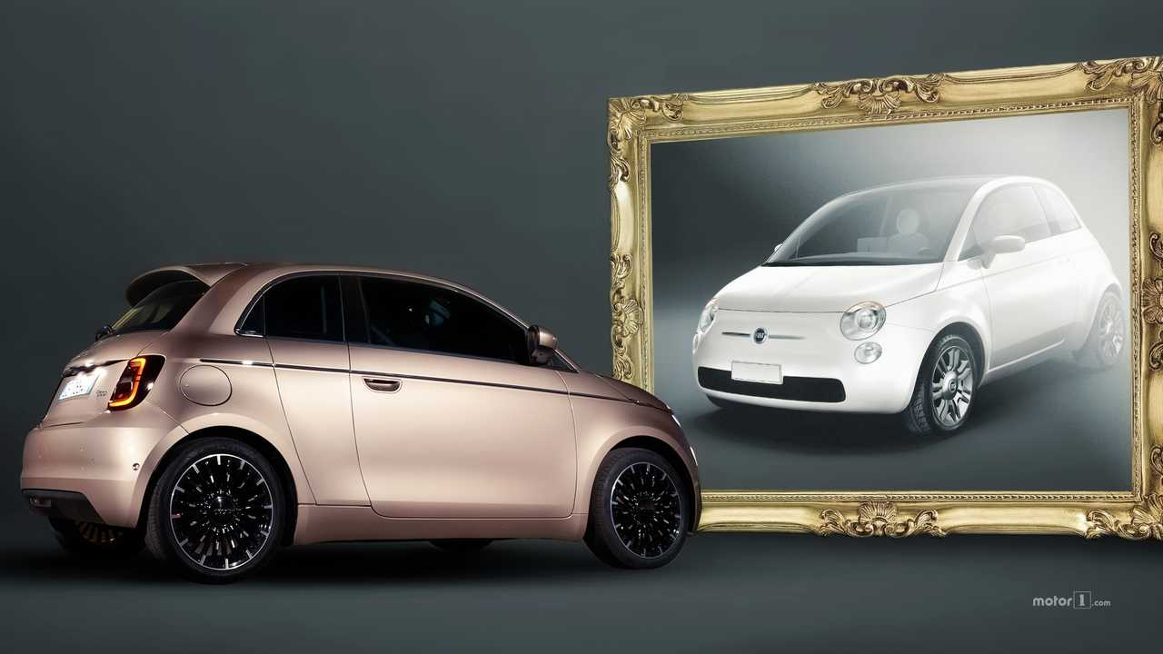 Fiat 500 elettrica 3+1 vs Trepiuno