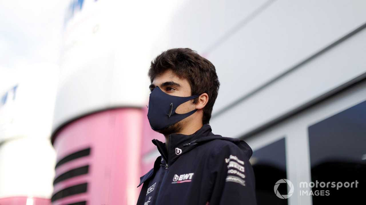 Lance Stroll at Eifel GP 2020