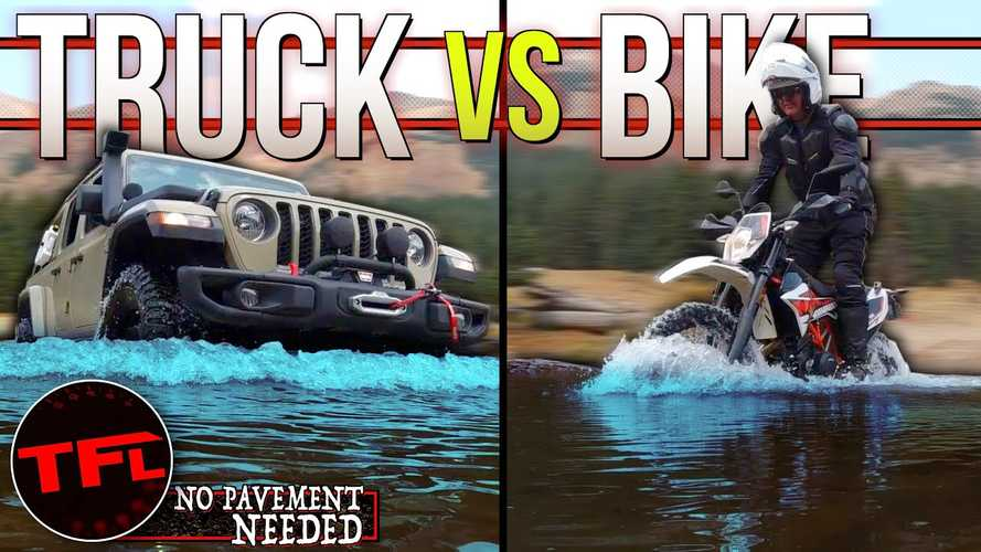Mountain Off-Road-Off: KTM 690 Enduro Vs. Jeep Gladiator