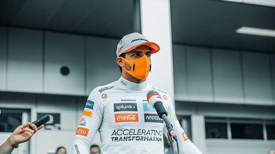 """Sainz: """"La curva 2 de Sochi está mal hecha, pero fue error mío"""""""