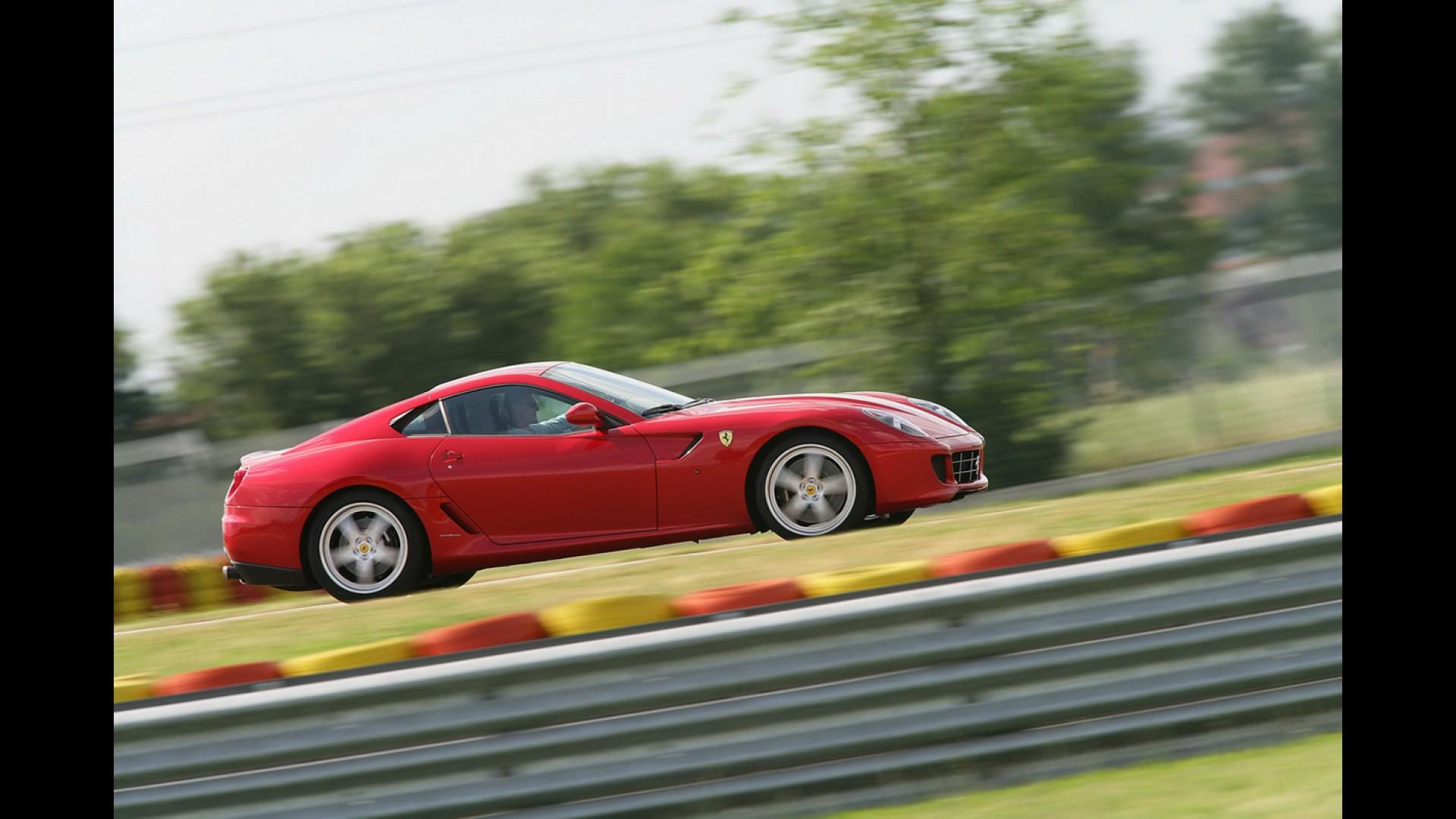 Trabalho Chato Schumacher Faz Test Drive Da Ferrari 599 Gtb Hgte Em Fiorano Veja Fotos Photo