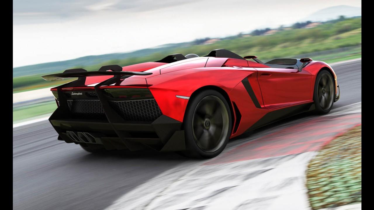 Lamborghini apresenta Novo Aventador J - Veja galeria de fotos