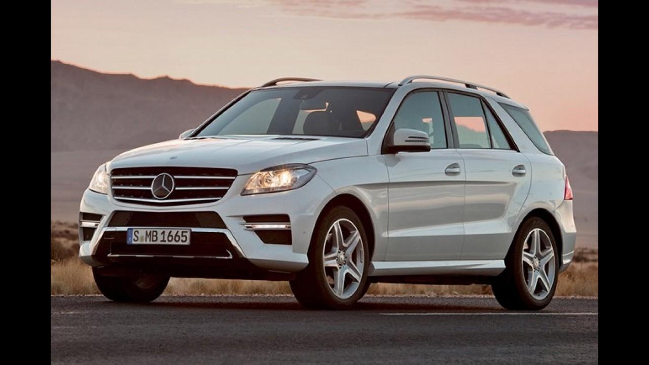 Mercedes-Benz prepara rival para o BMW X6 - Modelo deve chegar em 2014