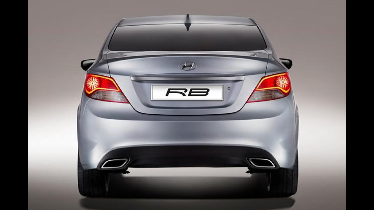 Hyundai apresenta o RB Concept 2010 em Moscou