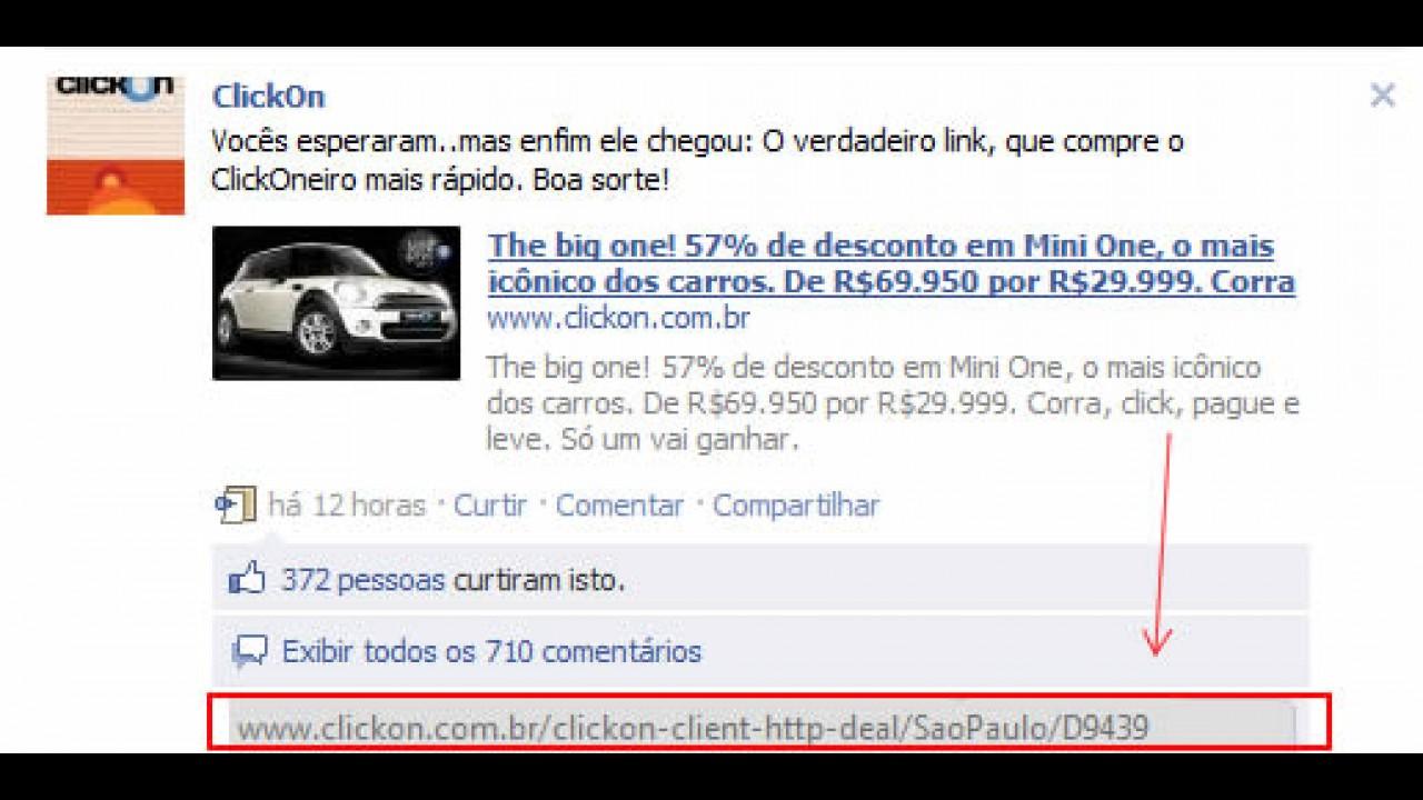 ClickOn fura Groupon e vende MINI One por R$ 29.999, mas processo gerou desconfiança