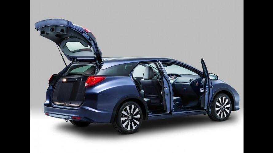 Vídeo: Honda mostra inédita perua Civic Tourer em detalhes