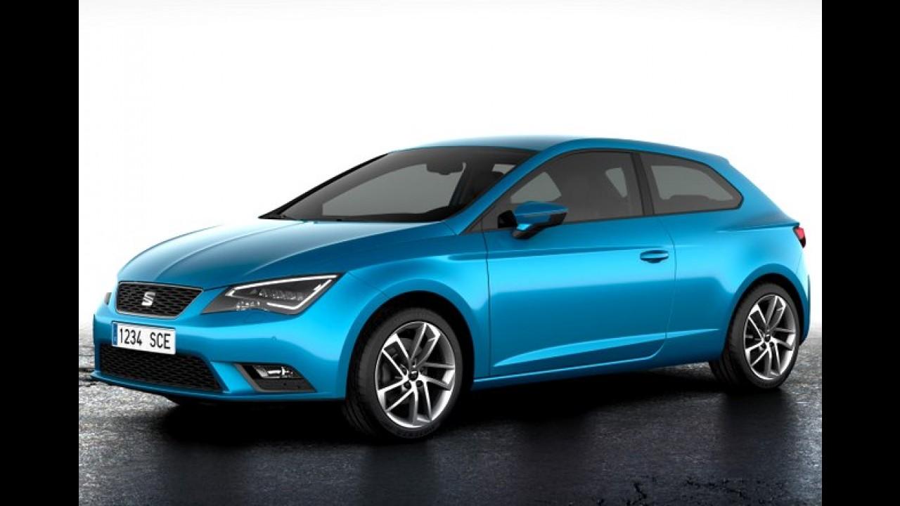 Seat Leon SC 2013 é revelado - Veja os detalhes da versão três portas (galeria de fotos)