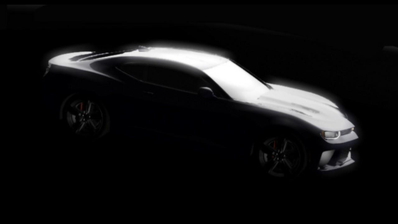 Novo Camaro aparece em imagem misteriosa durante coletiva em Detroit