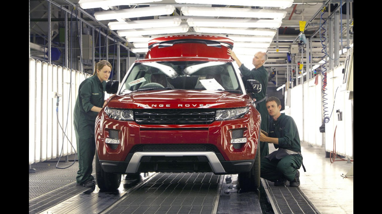 Jaguar Land Rover decidirá sobre fábrica no Brasil até outubro