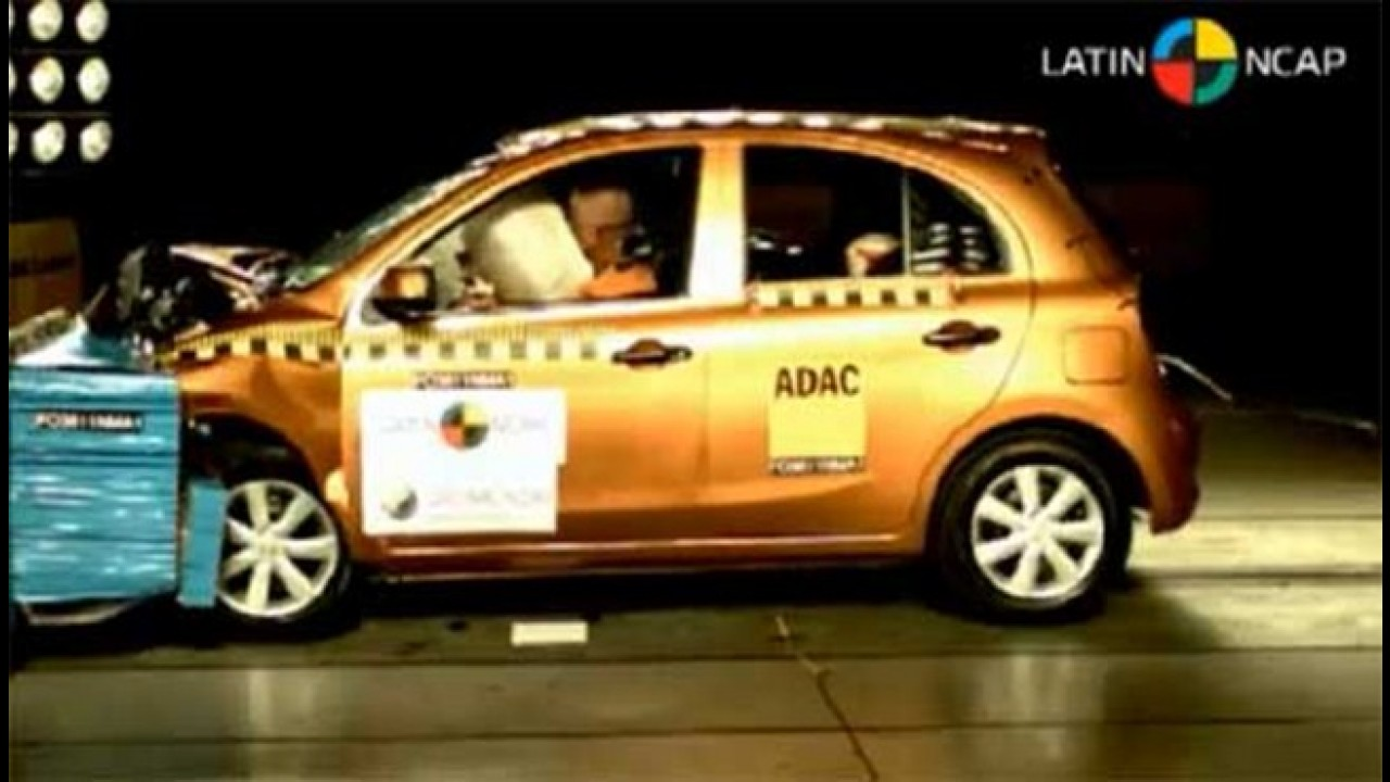 Pouco seguros: Carros brasileiros não conseguem boa avaliação em teste do Latin NCAP