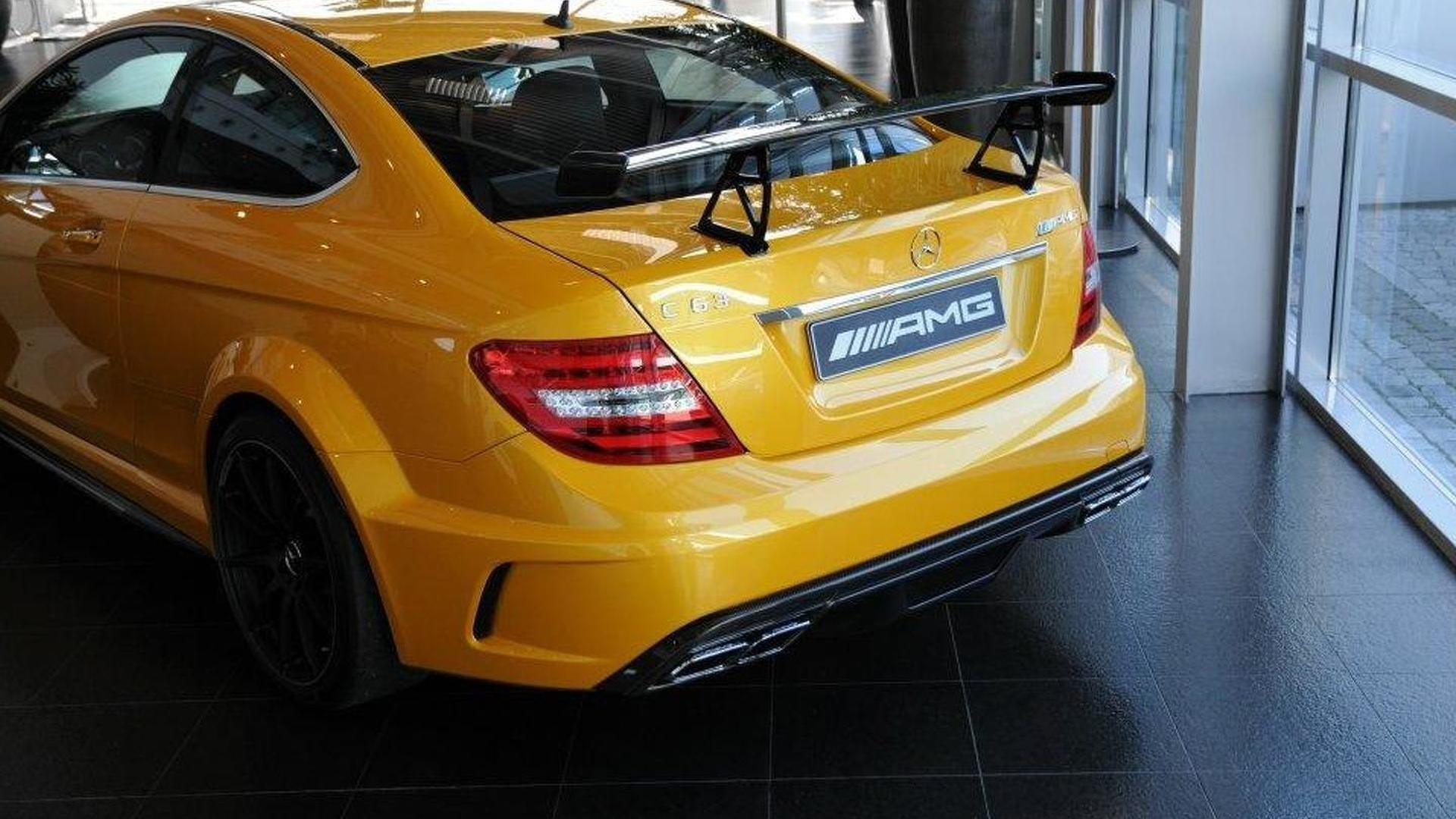 Mercedes Benz C63 Amg Coupe Black Series New Video Released