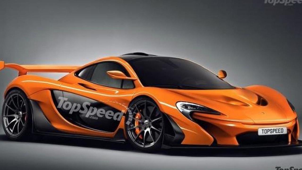 Road-legal McLaren P1 GTR render