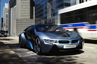 BMW i8 to Debut at Frankfurt Motor Show